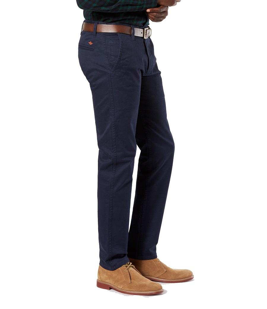 Pantalon Hombre Docker Alpha Original Khaki Pembroke