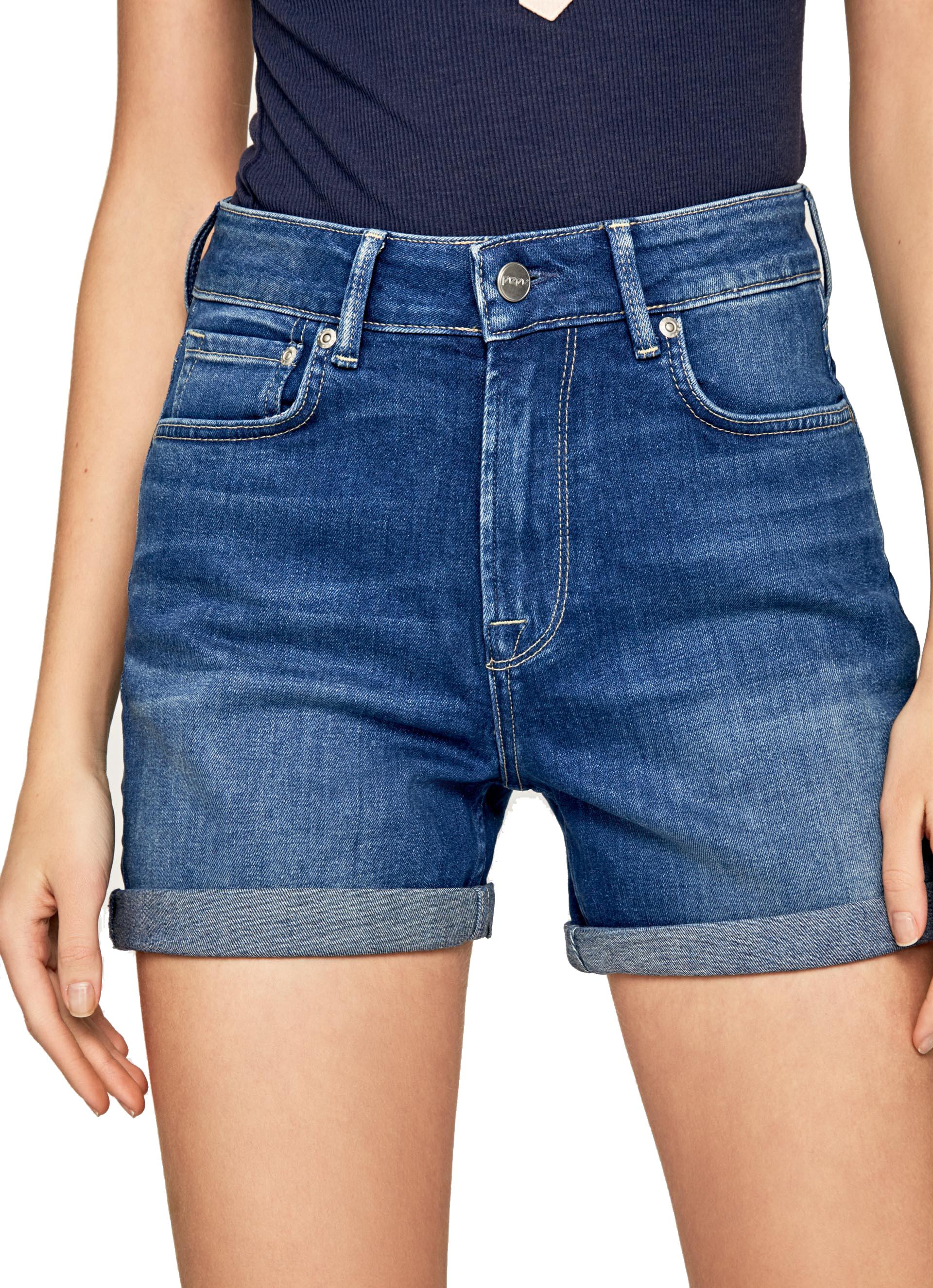 Pantalon Corto Mujer Pepe Jeans Mary Short Korner